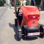 Test Drive electric cu Renault Twizy