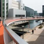 In Copenhaga s-a construit o pista suspendata pentru biciclisti