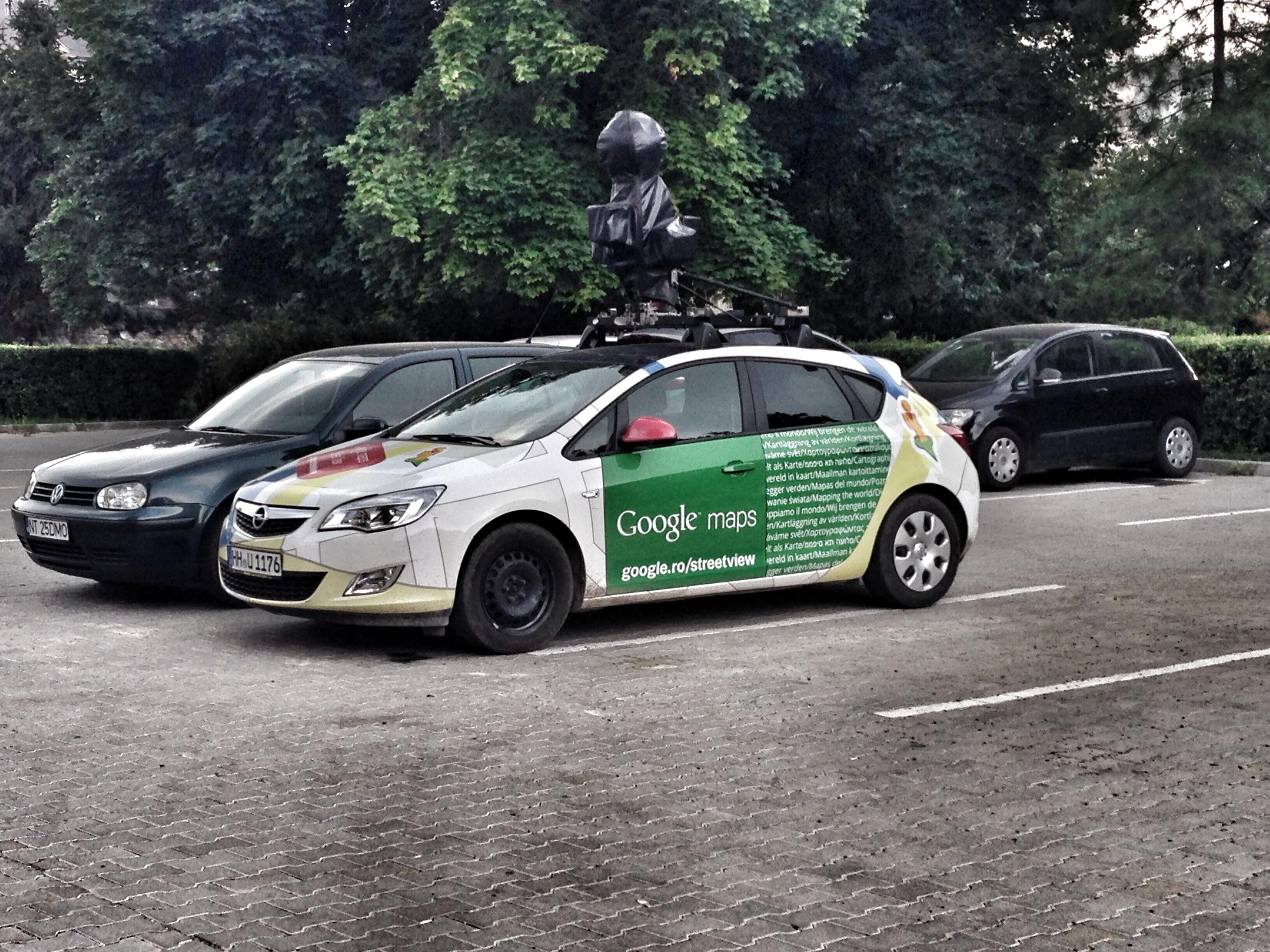 Google Mpas car