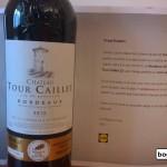 Lidl, Holograf si un vin Bordeaux AOP CH La Tour Caillet 12