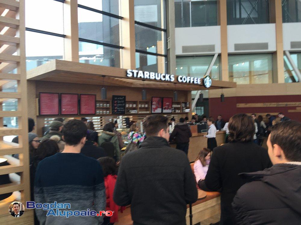 S-a deschis prima cafenea Starbucks la Iasi in Palas Mall