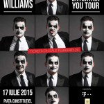 Este oficial, Robbie Williams va concerta in Romania, la Bucuresti, pe 17 iulie