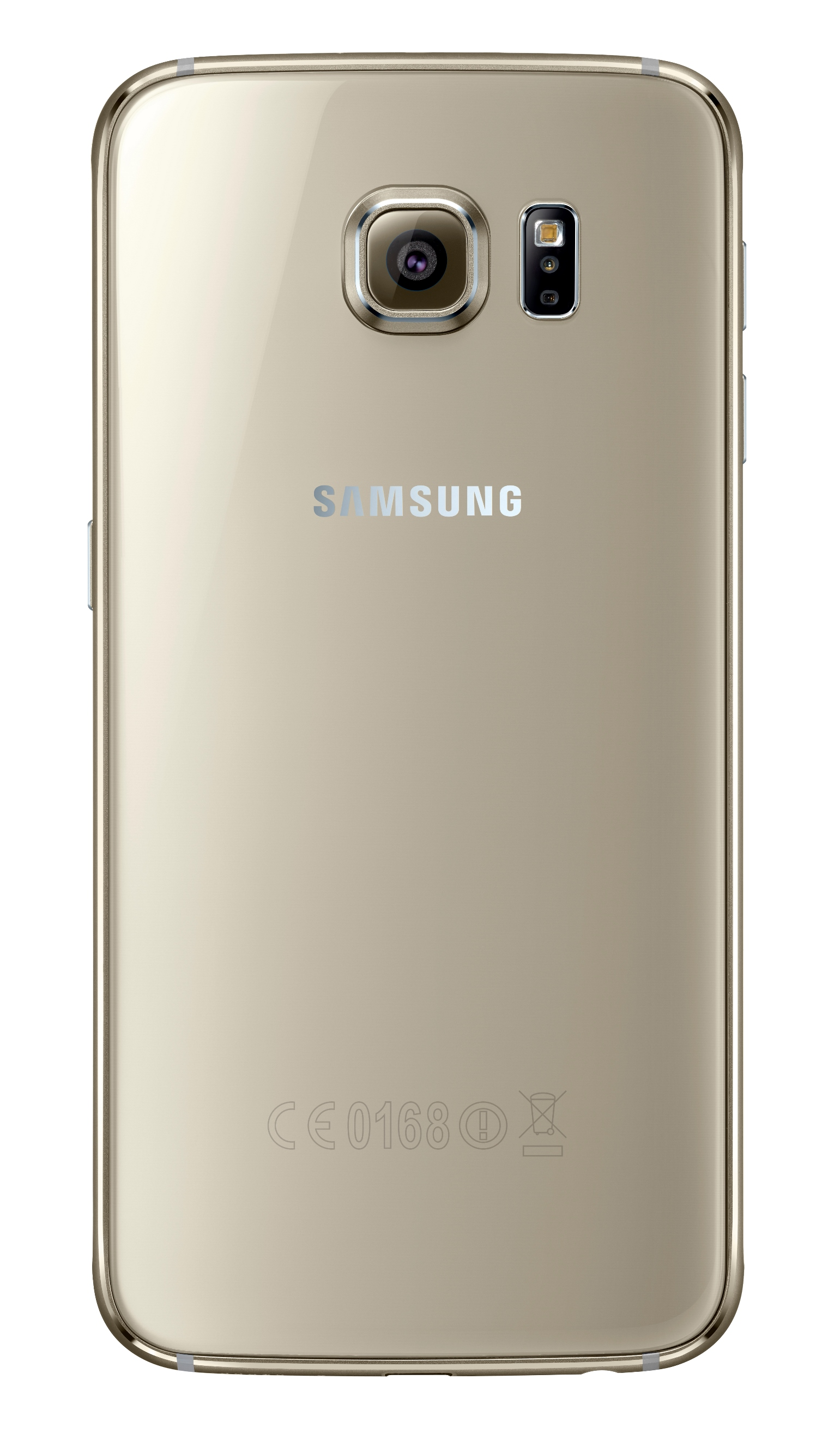 Samsung Galaxy S6_Back_Gold_Platinum