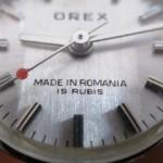 Se relanseaza OREX, primul si singurul brand Romanesc de ceasuri de mana