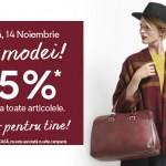 Ziua Modei la C&A – 14 Noiembrie – 25% reducere la toate articolele