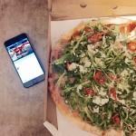Pizza Parma Pomodoro de la Doppio Zero