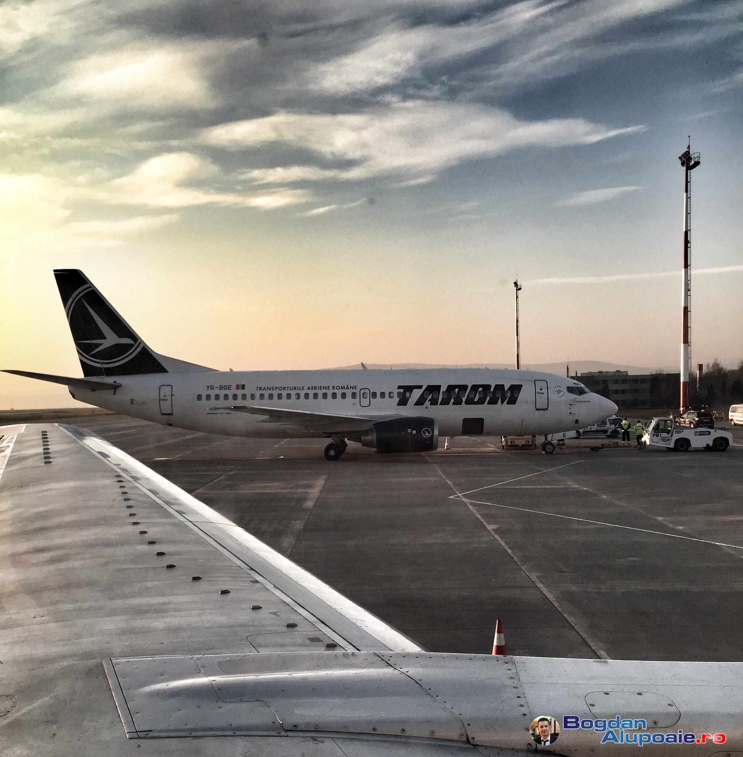 Din 1 iunie putem zbura de la Iasi cu Tarom spre Cluj - Istanbul