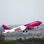 Reducere de 50% pentru zborurile cu Wizz Air