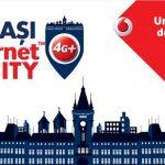 Vodafone anunta astazi lansarea Supernet™4G+ si ofera internet gratuit in Iasi