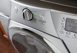 C3RCM9 Controls on front loading washing machine
