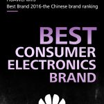"Huawei primeste premiul ""Best Consumer Electronics Brand"" 2016"