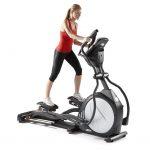 Bicicleta eliptica pentru un pic de sport acasa
