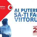 Vodafone Romania lanseaza campania de brand de 20 de  ani si anunta internet nelimitat gratuit de Dragobete