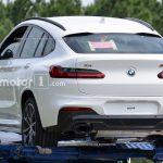 Noul BMW X4 surprins