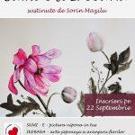 Relaxare prin Artă:cursuri introductive de arte tradiționale japoneze, Ikebana și Sumi-e, la Iași
