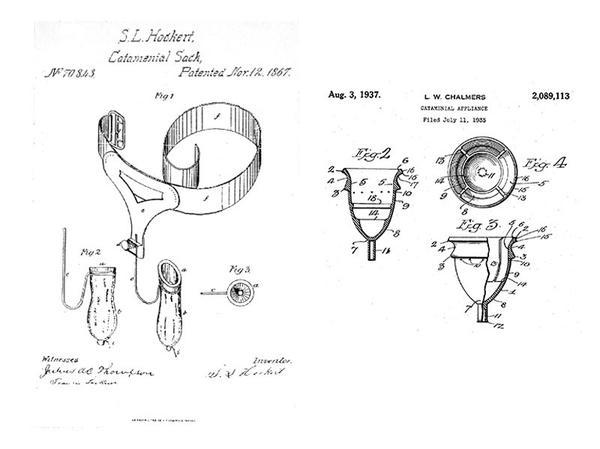 istoria cupelor menstruale