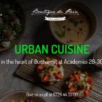 Dacă ești în București, optează pentru Restaurantul Franțuzesc Boutique du Pain