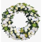 Coroane funerare elegante care sa aline familia indoliata