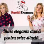 Bluze de dama elegante pentru noul sezon de primavara doar pe Rochii-Doamne.ro